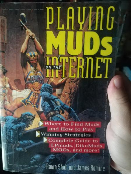 Playing MUDs on the Internet - front cover