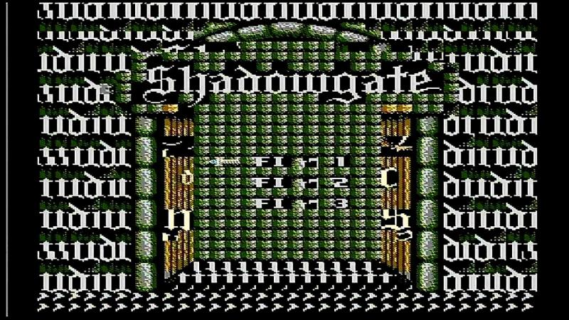 Shadowgate glitched out